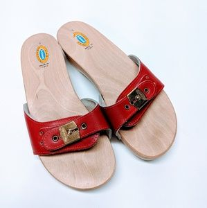 The Original Dr. Scholl's Leather Exercise Sandals